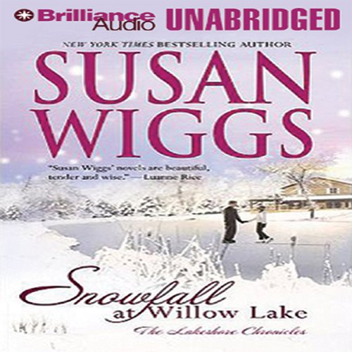 Snowfall at Willow Lake audiobook cover art