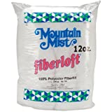 Mountain Mist Fiberloft Polyester Stuffing, 12 Ounces