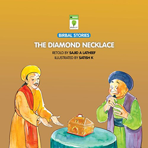 The Diamond Necklace audiobook cover art