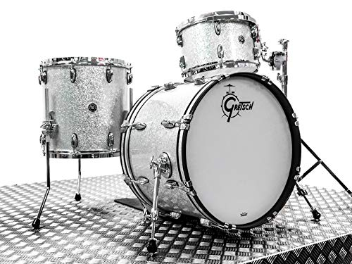 Gretsch Brooklyn Drum Kit, Silver Sparkle