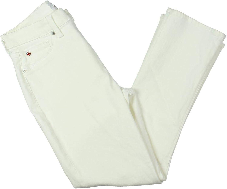 Hudson Womens Harper Cropped High Rise Skinny Jeans