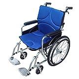 XYW Silla de Ruedas - aleación de Aluminio Silla de Ruedas Plegable para Ancianos, Materiales médicos, sillas de Ruedas Plegables para Ancianos