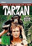 Tarzan, Vol. 1 / 16 Folgen der Kultserie mit Ron Ely (Pidax Serien-Klassiker) [4 DVDs] [Alemania]