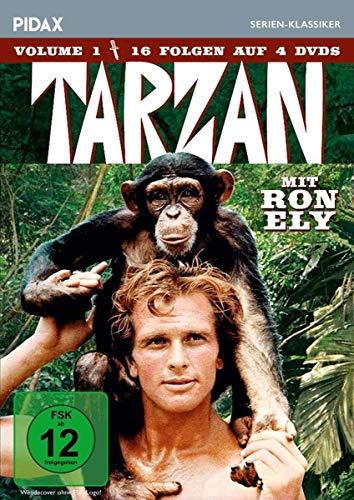 Tarzan, Vol. 1 / 16 Folgen der Kultserie mit Ron Ely (Pidax Serien-Klassiker) [4 DVDs]