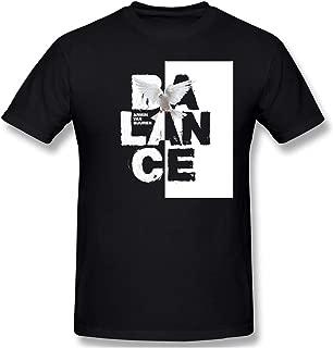 Louishollingsworth 100% Cotton Armin Van Buuren Sassy Black Graphic Short Sleeve T Shirts for Mens