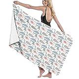 Large Soft Microfiber Bath Towel Blanket,Space Stars Dark Night Sky Print,Bath Sheet Beach Towel for Family Hotel Travel Swimming Sports,52' x 32' Towl10