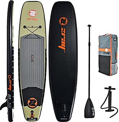 JL027379N Z-Ray FS7 11' Deluxe Fishing Stand Up Paddle Board Package from Shanghai Jilong Plastic Products Co LTD