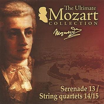 Mozart: Eine kleine Nachtmusik, K. 525, String Quartets Nos. 14 & 15