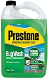 Prestone AS657 Bug Wash Windshield Washer Fluid, 128 Ounces (1 Gallon)