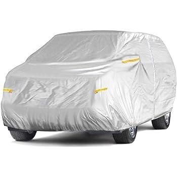 YAXIAO Housse de Protection pour Voiture SUV en Tissu Oxford /épais Protection Contre Le Soleil Housse de Protection Contre la Pluie pour mod/èles Mercedes-Benz GLE Couverture de Voiture