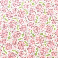 ダブルガーゼ 生地 マルルー 国産 日本製 布 綿 パジャマ 50cm単位販売 (ピンク)