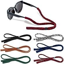 Glasses Strap (Pack of 6) Adjustable Sunglasses Retainer Men Women