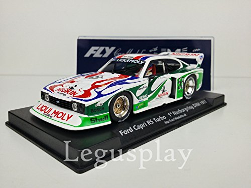 FLy Slot SCX Scalextric 99014 Ford Capri RS Turbo 1º Nurburgring DRM 1981 A142L