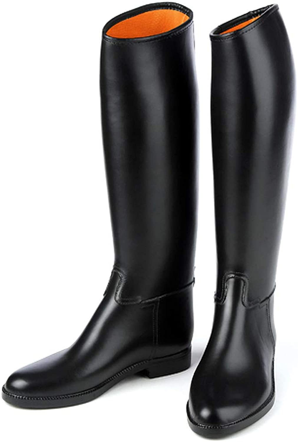 Derby Ovation Cottage - Men's Lined Rubber Riding Boot -Mens 11 (Euro 45) (Black)