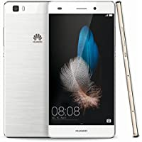 """Huawei P8lite - Smartphone (Pantalla 5"""", cámara Frontal de 5 MP y cámara Trasera de 13 MP, 2 GB de RAM, 16 GB), Blanco"""