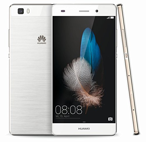 Huawei P8 Lite Dual SIM 4G 16GB Weiß – Smartphones (12,7 cm (5 Zoll), 16 GB, 13 MP, Android, 5.0, weiß)