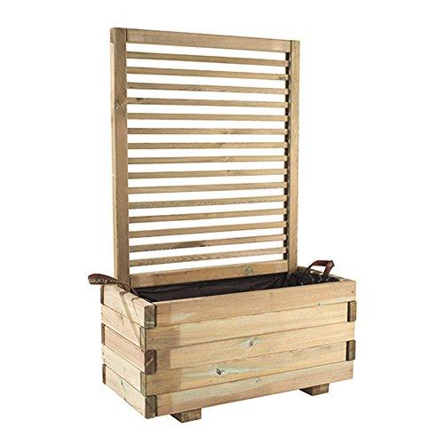 Forest Style 230321 Treillis carré 40 x 80 x 120 cm, Pin pour clôture