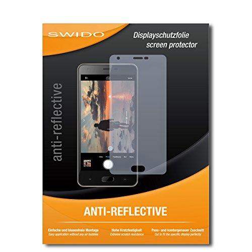 SWIDO Schutzfolie für Doogee X20L [2 Stück] Anti-Reflex MATT Entspiegelnd, Hoher Festigkeitgrad, Schutz vor Kratzer/Bildschirmschutz, Bildschirmschutzfolie, Panzerglas-Folie
