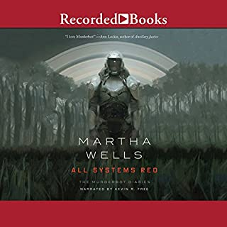 All Systems Red                   Written by:                                                                                                                                 Martha Wells                               Narrated by:                                                                                                                                 Kevin R. Free                      Length: 3 hrs and 17 mins     64 ratings     Overall 4.5
