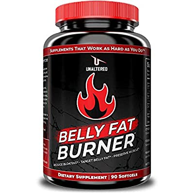 CLA - Belly Fat Pills That Work - Conjugated Linoleic Acid 1000mg Softgels - Slim Stomach & Abdominals - Natural & Keto Diet Friendly Supplement for Men & Women - 30 Servings