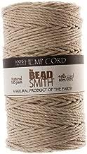 Beadaholique Natural Hemp Twine Bead Cord, 2mm by 60m