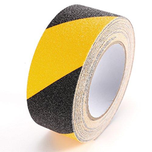 SurePromise One Stop Solution for Sourcing 20M*50mm Schwarz/Gelb Antirutschband Klebeband Antirutschbelag Treppe Stufe
