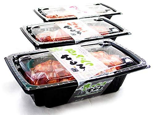 キムチ3種各200g×1パック(甘熟はくさいキムチ 元祖きゃべつキムチ 大根カクテキ)(甘藍きむち 白菜キムチ ダイコンかくてき)国産原料使用