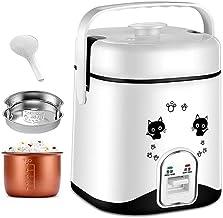 Pequeña cocina eléctrica, eléctrica olla caliente con acero inoxidable sano interior Pot, Cocine los fideos y los huevos for hervir el agua fácil (Color: Rosa) (Color: Negro) lalay ( Color : Black )