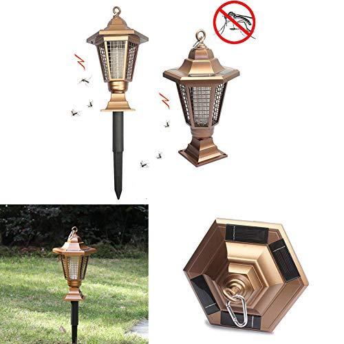 Outdoor zonne-LED-verlichting, tuin gazon muggen killer lamp, zonne-goud grond plug-in insectenwerend middel tuin lamp, intelligente controle, hoge efficiency, gemakkelijk te gebruiken