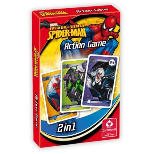 Marvel (Kartenspiel), Spider-Mann Action Game, m. deutscher Anleitung