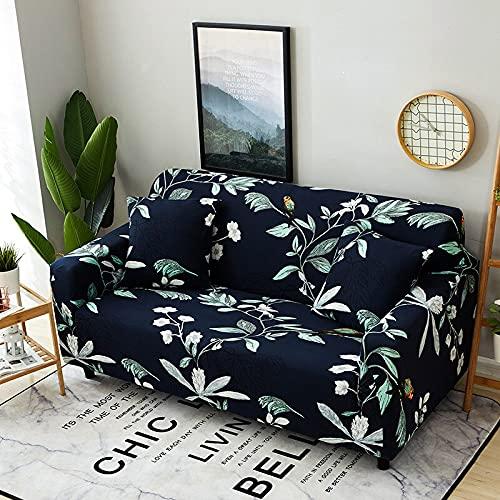 WXQY Funda de sofá elástica con patrón a Cuadros, Juego de Esquina de sofá Modular Universal elástica, Funda de sillón para Muebles, Funda de sofá A26, 1 Plaza