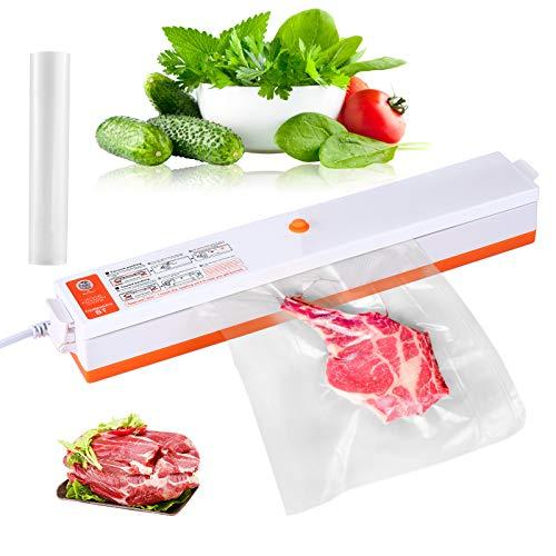 ACE2ACE Macchina Sottovuoto per Alimenti per Casa, Professionale Portatile Vacuum Sealer, Automatica Sigillatore Sottovuoto con 20 Sacchetti Sottovuoto, Larghezza di sigillatura 30cm
