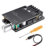 100W Bluetooth Amplifier Board TPA3116,YEMIUGO 50W+50W Digital Stereo AUX Audio Amp Board, Dual Channel DC 5V-27V LC Filter Technique Password Free Connection