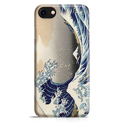 ItalianCaseDesign Carcasa Funda Protectora para iPhone 7-8 - 7 Plus - 8 Plus (Selecciona el Modelo) Hokusai El Arte de Japón Gran Ola de Pintura Museo del Aceite