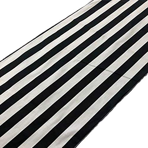 black and white outdoor fabric - 7