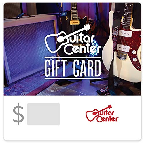Guitar Center Gift Cards - E-mail Delivery