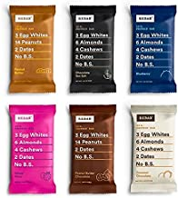 product image for RXBAR Whole Food Protein Bar, Best Seller Variety Pack, 6 Flavors (Pack of 30)