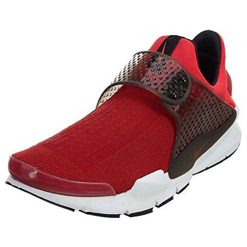 Nike Mens Sock Dart Lightweight Knit Running Shoes Red 12 Medium (D)
