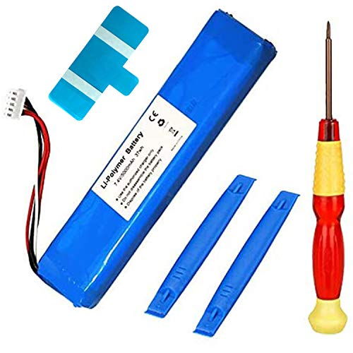 oGoDeal Battery Replacement Compatible for JBL Xtreme Speakers 5000mAh 7.4V GSP0931134 with DIY Repair Tools and Instruction Guide