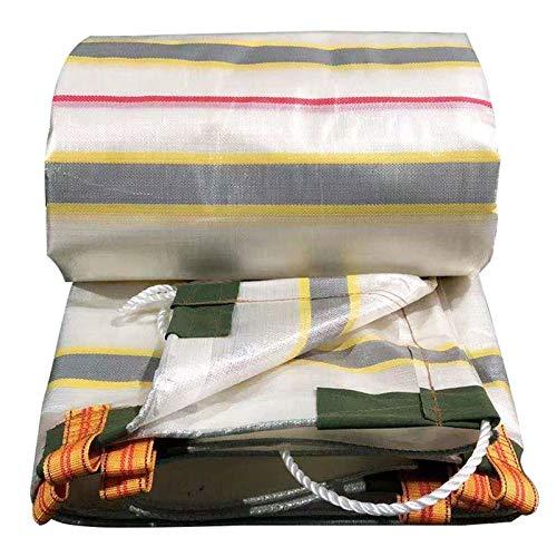 GAOYUY Lona Alquitranada, Lona De Color Impermeable Ligera Paño De Polietileno para Protección Solar Cubiertas De Sábanas Impermeables Multiusos (Color : Colorful, Size : 7.8X6.7M)