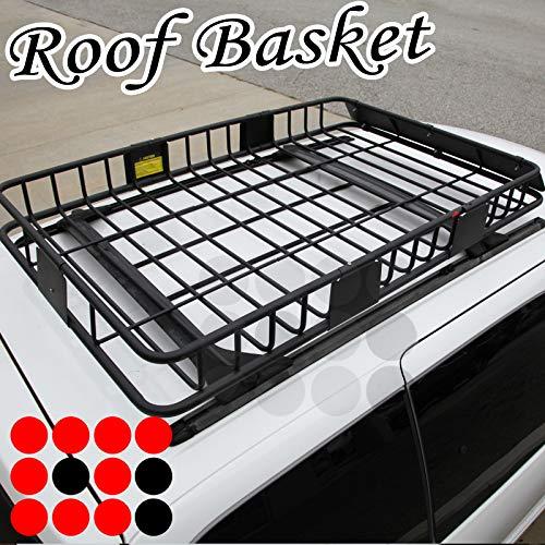 LT Sport Roof Rack Basket Extension Cargo Carrier Storage Luggage Holder Top Heavy Duty