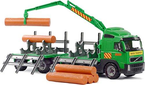 Polesie 8725 Volvo Holz LKW mit Anhänger