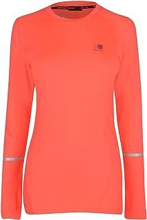 Karrimor Womens Xlite Long Sleeve T Shirt Ladies カリマー レディース ランニングウェア トレーニングウェア 指掛けタイプ 長袖Tシャツ 軽量 通気性