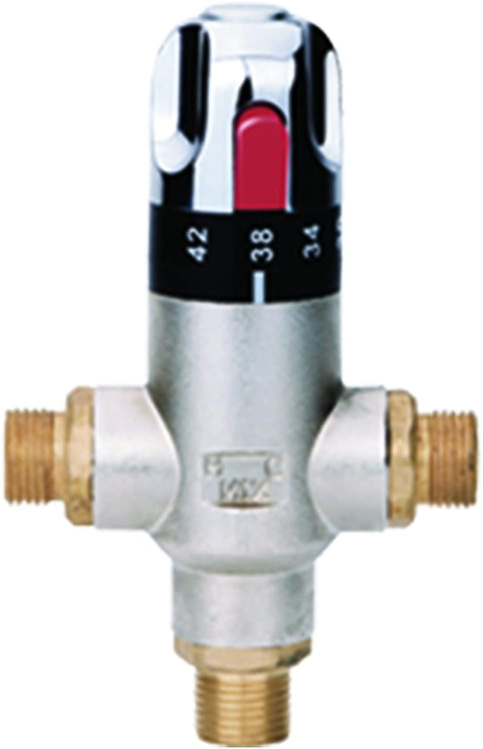 Thermostatic Blending Valve, Silver, 15 mm