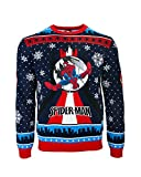 Spider-Man Swinging Ugly Christmas Sweater