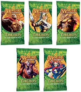 Magic the Gathering Theros LOT OF 5 Booster Packs