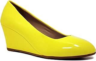 Best yellow wedges heels Reviews