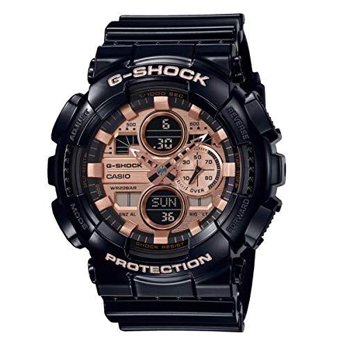 Casio G-Shock Orologio Analogico-Digitale Uomo con Cinturino in Resina Nero - Ga-140gb-1a2er