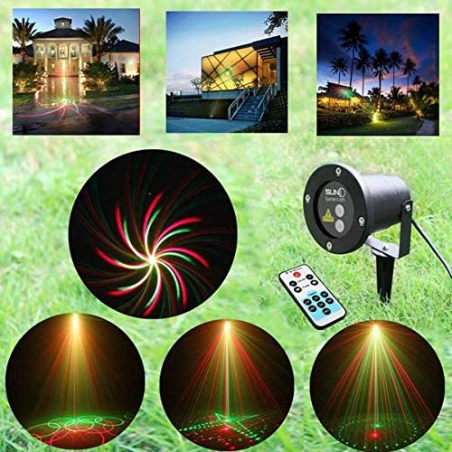 Corn Light Outdoor Remote LED Projector Seasonal Classic Wrap Introduction Lawn Waterproof St