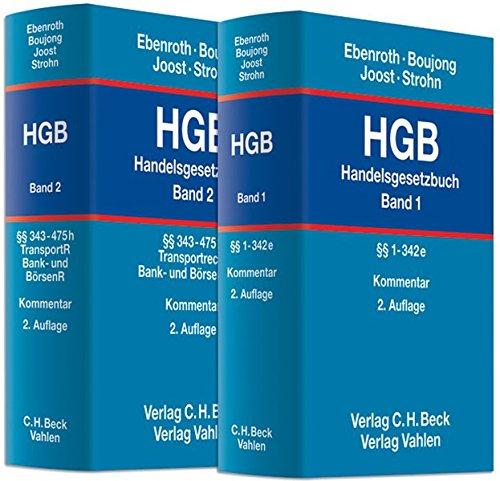 Handelsgesetzbuch: HGB: HGB  Gesamtwerk: In 2 Bänden